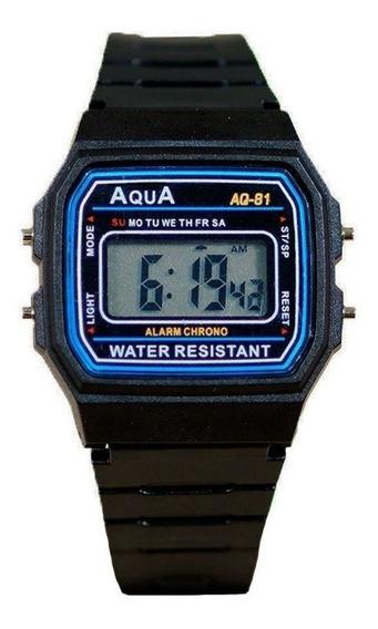 Relógio Do Presidente Bolsonaro Mod- Aqua Aq-81 Prova D
