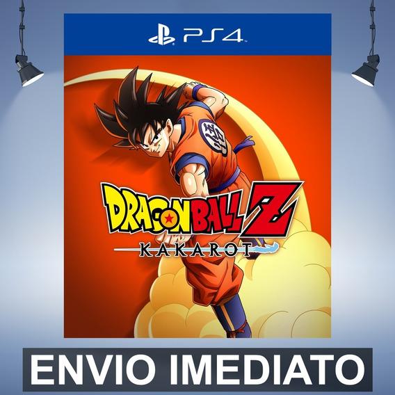 Dragon Ball Z Kakarot Código 12 Digitos Ps4