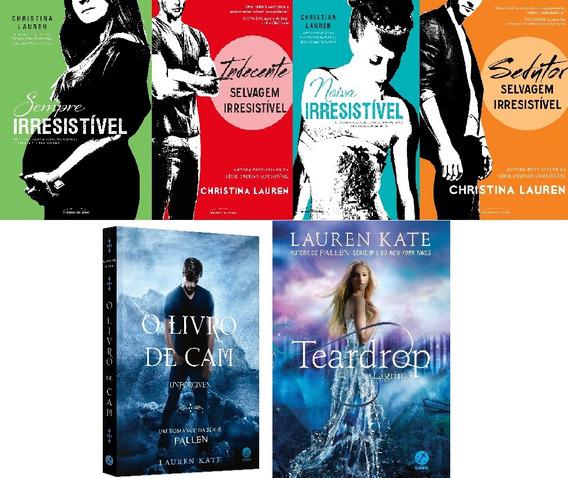 Combo Livros - Lauren Kate - Christina Lauren
