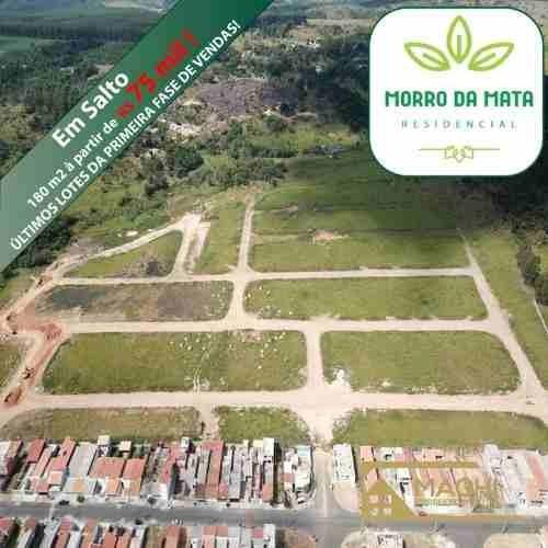 Terrenos 180 M² No Residencial Morro Da Mata Em Salto Sp - Loteamento Em Salto