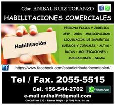 Habilitaciones Municipales Comerciales Estudio Contable