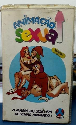 Filme Pornô Fita Vhs- Animação Sexual- Desenho Animado