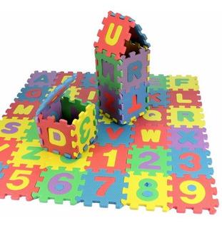 Sobre 72 Unids Bebé Niños Mini Eva Espuma Alfabeto Letras Nú