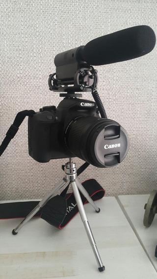 Câmera Canon Eos Rebel T5i Com Menos De Mil Cliques!
