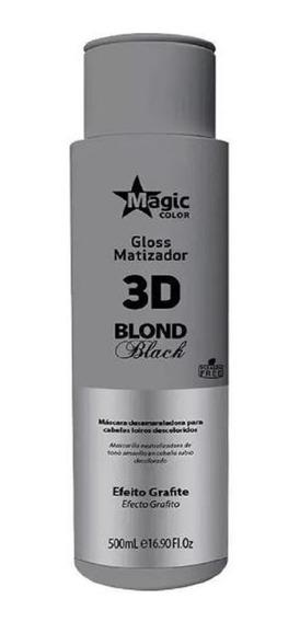 Magic Color Gloss 3d Blond Black Matizador 500ml