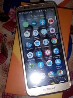Celular Motorola E5 Play 16 Gb Plateado