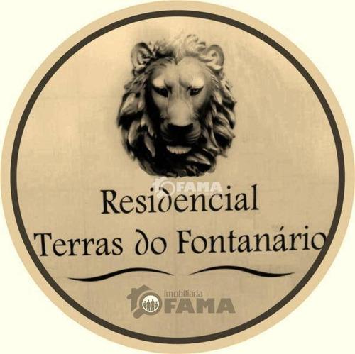 Imagem 1 de 17 de Terreno À Venda, 300 M² Por R$ 240.000,00 - Condomínio Terras Do Fontanário - Paulínia/sp - Te0177