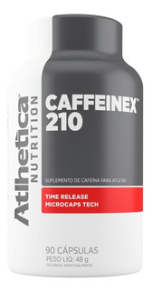 Caffeinex 210 Mg 90 Cápsulas - Atletica Nutrition