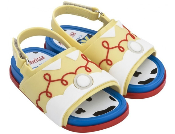 Sandália Mini Melissa Beach Slide +toy Story Original