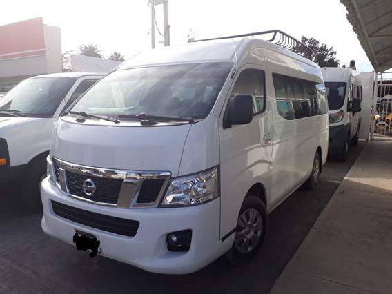 Nissan Urvan 2017 15 Pasajeros Excelentes Condiciones