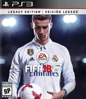 Fifa 18 Latino Legacy Edition Ps3