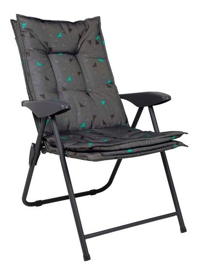 Cadeira Poltrona Estofada Mor Kairos Grafite K1 - 9201