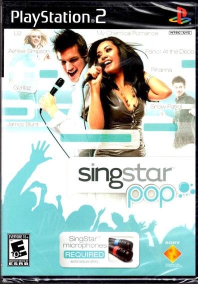Jogo Original Singstar Ps2