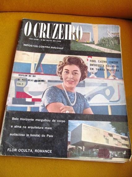 Cruzeiro 1958 Belo Horizonte Miss Liz Taylor Fidel Lana Turn