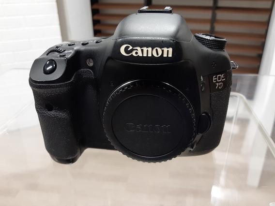Canon 7d Usada Em Ótimo Estado