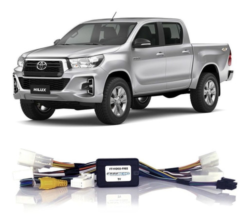 Desbloqueio Tela Toyota Hilux 2014 A 2019 Interface Faaftech
