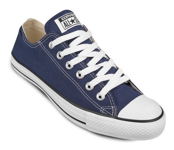 Zapatos Converse All Star Azul Marino (35 A 42)