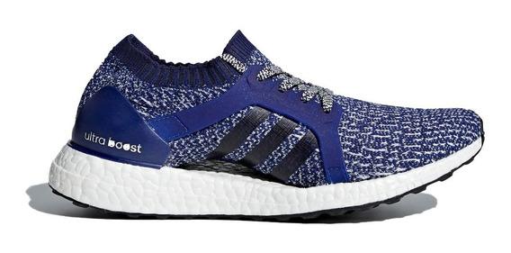 Zapatilla adidas Running Mujer Ultraboost X Azul Ras