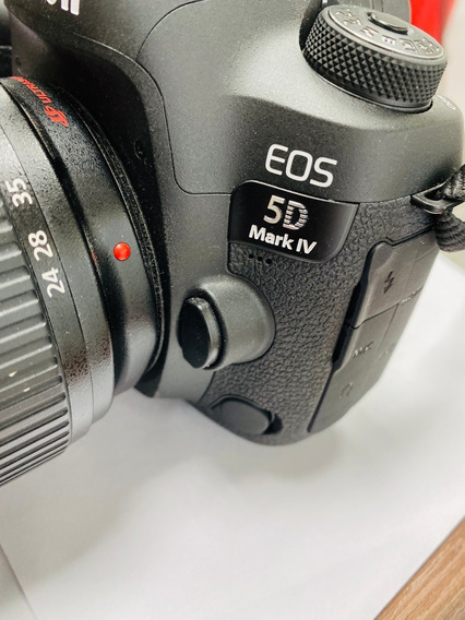 Camera Canon Eos 5d Mark Iv (somente O Corpo)