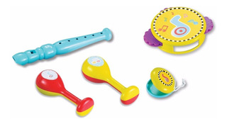Ok Baby Instrumentos Musicales Didáctico Bebe Mi Cielo Azul