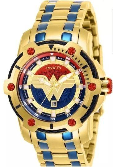 Relógio Invicta 26839 Ed. Ltda. Mulher Maravilha Original