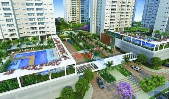 Apartamento De 76 M² No Jardins Do Brasil Abrolhos, Torre Atobá, Bloco B, 2 Suítes, 1 Vaga, Centro Osasco - Ap0683