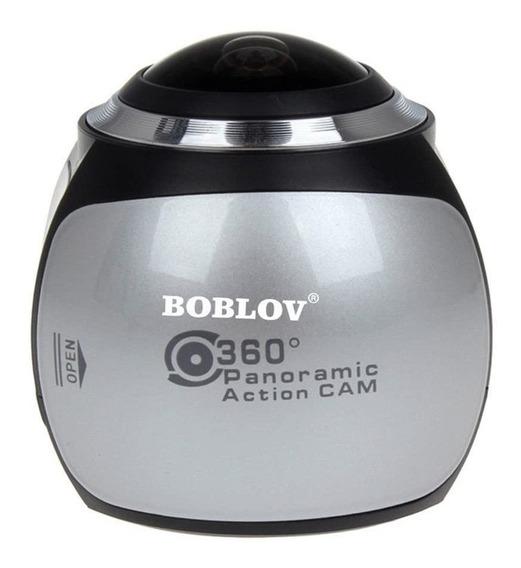 Câmera Boblov 360° Panoramic Action Cam