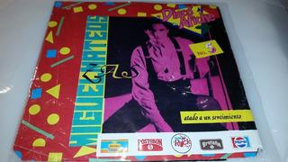 Miguel Mateos Disco Afiche No. 5 Colombia Simple Vinilo 1989