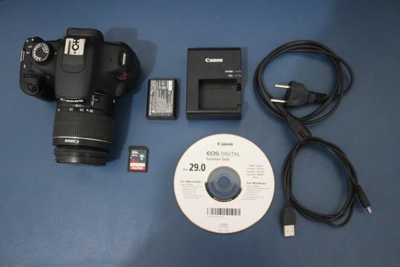 Câmera Digital Canon T5 - 1200d (12.119 Clicks)
