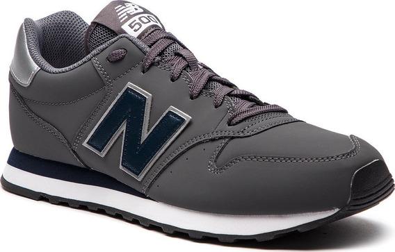 Tênis New Balance 500 - Casual Masculino Cinza