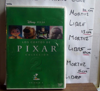 Dvd Disney Pixar Volúmen 2 Coleccion 12 Cortometrajes Nuevo