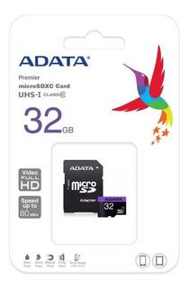 Memoria Adata Micro-sd 32gb Clase 10