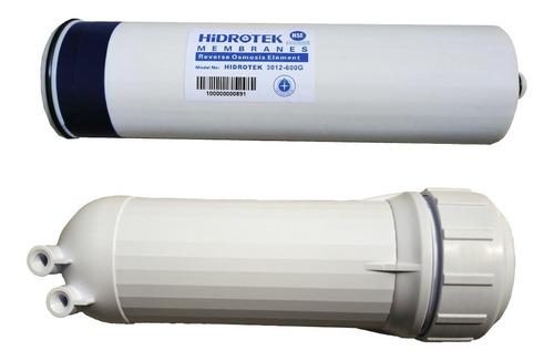 Imagen 1 de 3 de Membrana Osmosis Inversa Hiflux 600 Gal Y Carcasa Contenedor