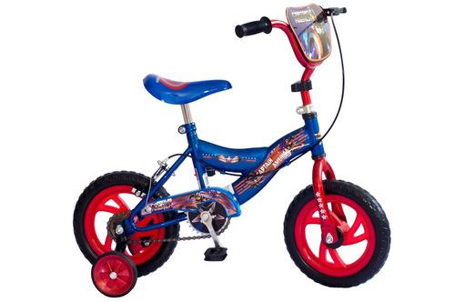 Bicicleta Capitán América Rodado 12