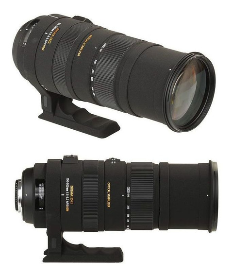 Lente Sigma 150-500mm F5-6.3 Apo Dg Os Hsm