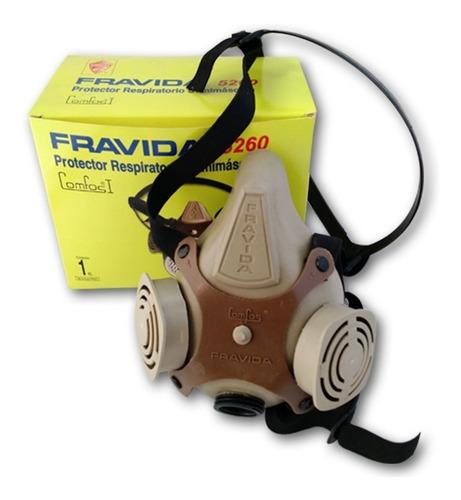 Proteccion Respiratoria Fravida 5260 Comfos I Sin Filtro