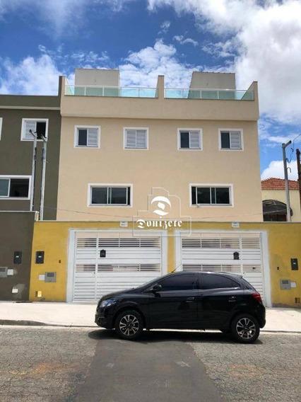 Sobrado Com 3 Dormitórios À Venda, 137 M² Por R$ 630.000,00 - Parque Jaçatuba - Santo André/sp - So2823