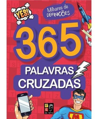 Livro 365 Palavras Cruzadas - Milhares De Definições
