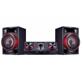 Mini System Lg Cj87, Usb, Multi Bluetooth, 1800w - Bivolt
