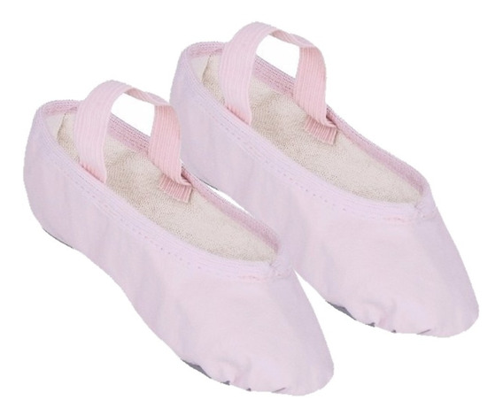 Sapatilha Meia Ponta Ballet Bale Só Dança Korino N° 22 Ao 45