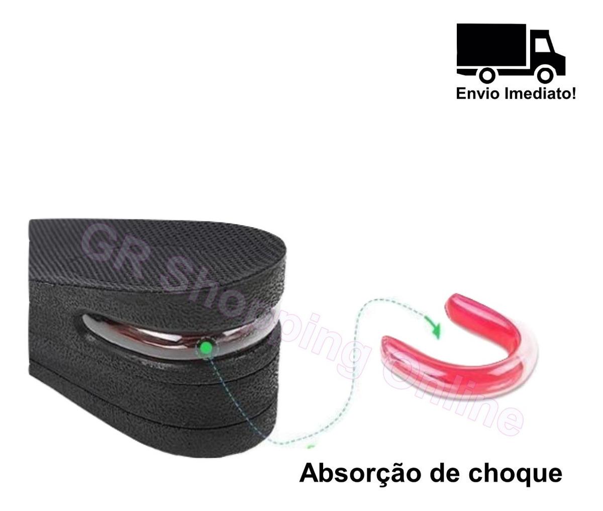 Palmilha Calcanhar Em Silicone Gel Ortopédica Anti-impacto