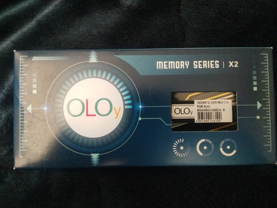 Memorias Rgb Oloy Ddr4 16gb 3200 Mhz