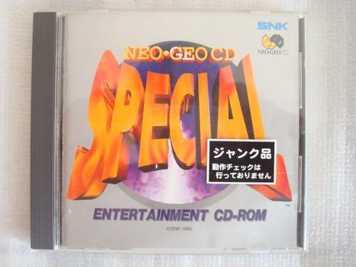 Neo Geo Cd Special - Neo Geo Cd Jogo Original Snk