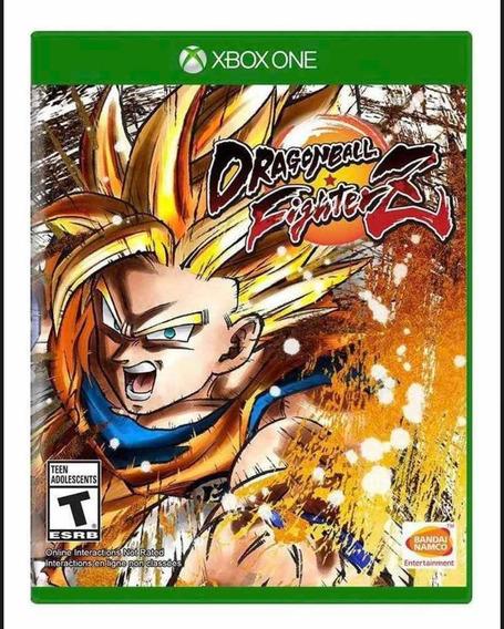 Dragon Ball Fighterz Xbox One Mídia Fisica Novo Lacrado