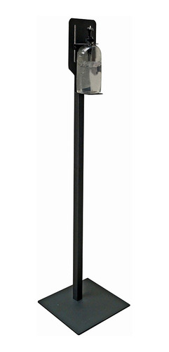 Pedestal Jessy Para Dispensador Gel Antibacterial Negro