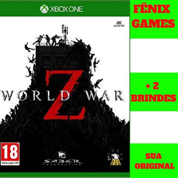 World War Z Xbox One + 2 Jogos De Brinde