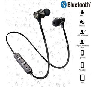 Fone De Ouvido Bluetooth Sem Fio Magnético Música Chamadas