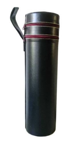 Imagen 1 de 6 de Estuche Eco Cuero Para Botella De Vino C/accesorios