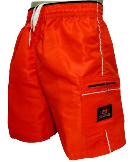 Bermuda Calção Masculino Short Infantil Tactel Kit 10 Unidad