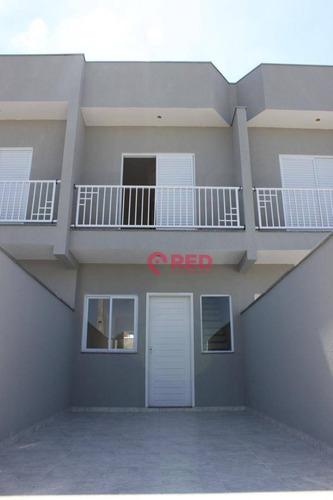 Sobrado Com 2 Dormitórios À Venda, 55 M² Por R$ 179.000,00 - Éden - Sorocaba/sp - So0070